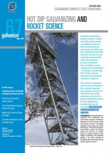 Issue 67 - Hot Dip Galvanizing And Rocket Science